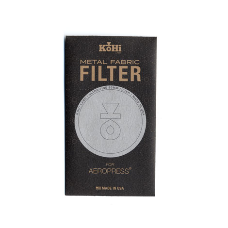 KoHi Labs™ Filter Package-Front